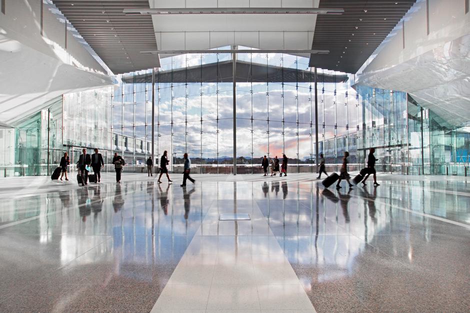 Soruce: Canberra Airport
