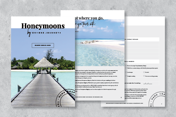 Honeymoon Registry Service